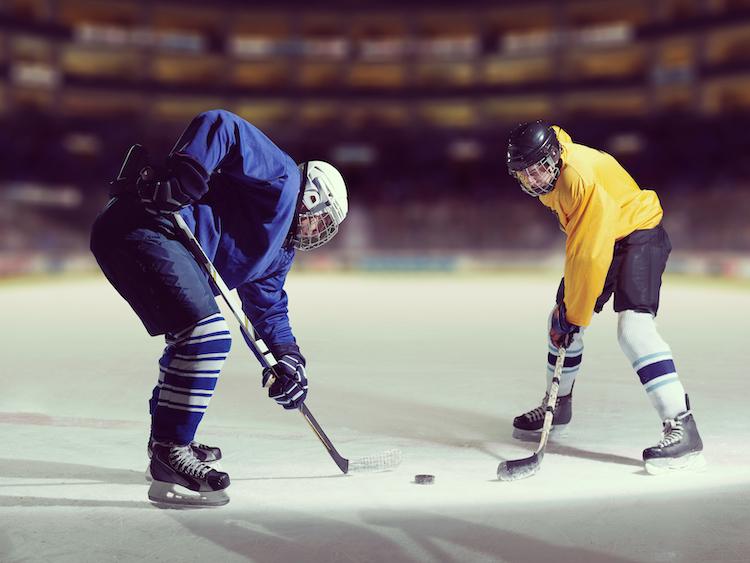 ice hockey leading to dementia
