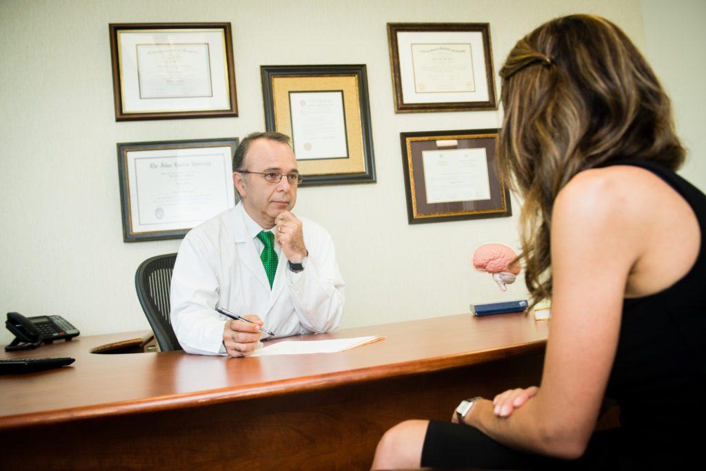 Neurologist Dr Majid Fotuhi