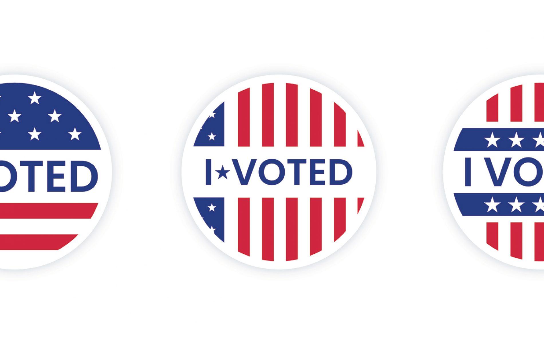 I Voted Header