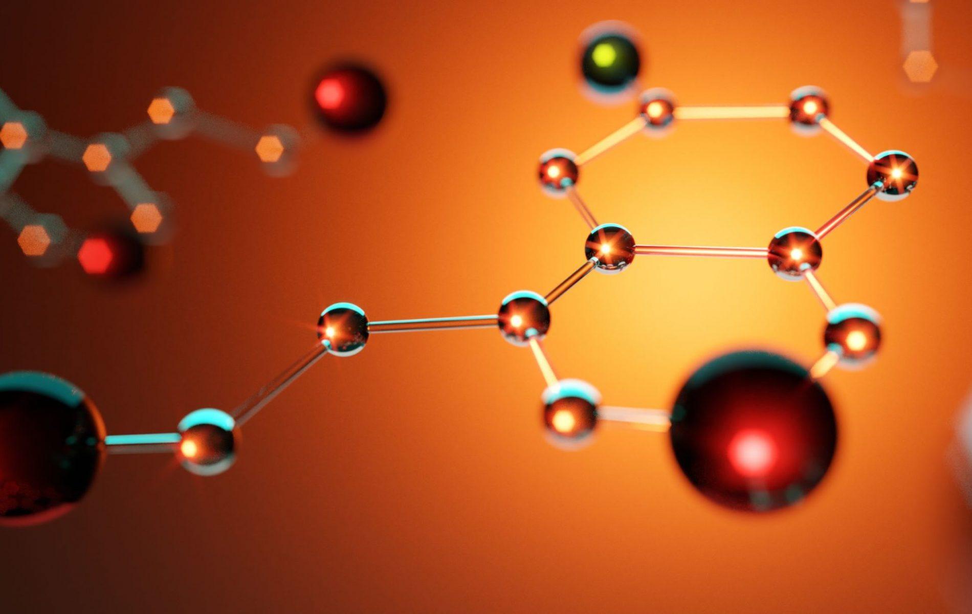 serotonin molecules